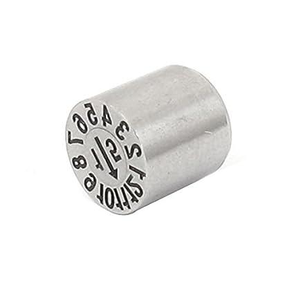 eDealMax acciaio inox Numero 1-12 Mese Anno Mold Timbro data ...