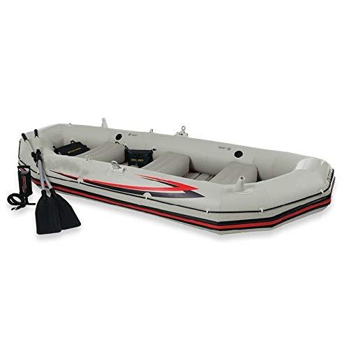 CVEUE OS Kayak Professional Sailor Four-Person Inflatable Boat Kayak Assault Boat Dinghy Thick Hard Boat Kayak Paddle Holder