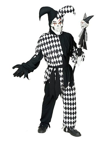 Kids Evil Jester Costume - Evil Jester Costume for