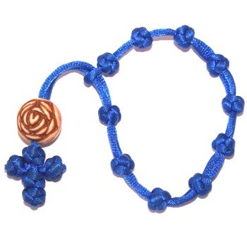 10-knots-flexible-chaplet-with-a-large-rose-bead-blue-