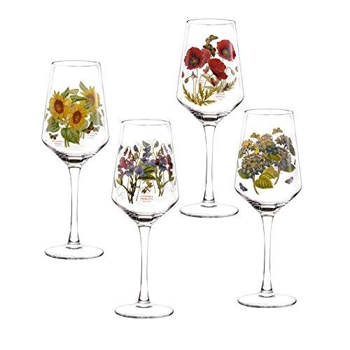 Portmeirion Botanic Garden Set of 4 Wine Glasses
