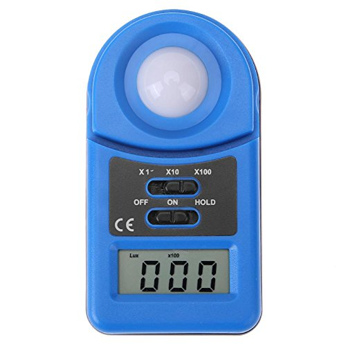 Vipeco Mini Digital 50000 Lux Illuminometer Photometer Luxmeter Brightness ()