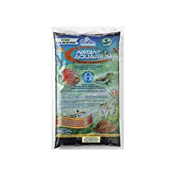 CaribSea Instant Aquarium Tahitian Moon Gravel, Black