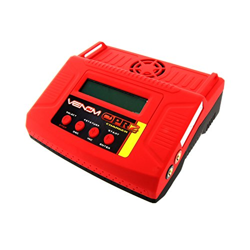 Venom Pro 2 AC/DC LiPo and NiMH Battery Charger 6 Amp for RC Car, Truck, Buggy, Boat, Plane, Helicopter, Quadcopter, and Drone