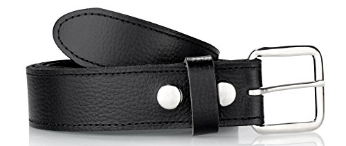 Soft Money leather Belt, With easy to change buckle, 1.5