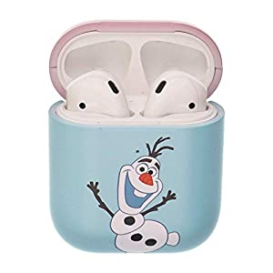Frozen Compatible with AirPods Case Protective Hard PC Shell Cute Cover – Frozen Olaf