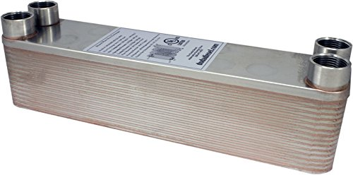 B3-23A 30 Plate Heat Exchanger 1/2'' Male NPT