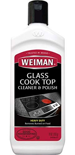 Weiman Glass Cook Top Heavy Duty Cleaner & Polish, 10 oz ()