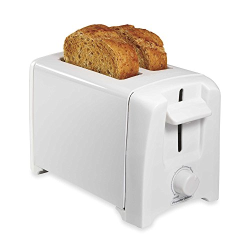 Proctor Silex 2-Slice Extra Wide Slot Toaster in White