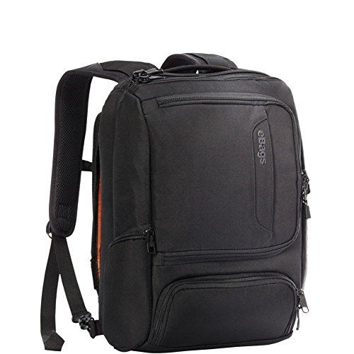 eBags Professional Slim Junior Laptop Backpack (Solid Black) by eBags