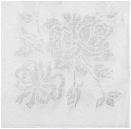 Hoffmaster 125040 Linen-Like Select Unembossed Dinner Napkin, 1/4 Fold, 17