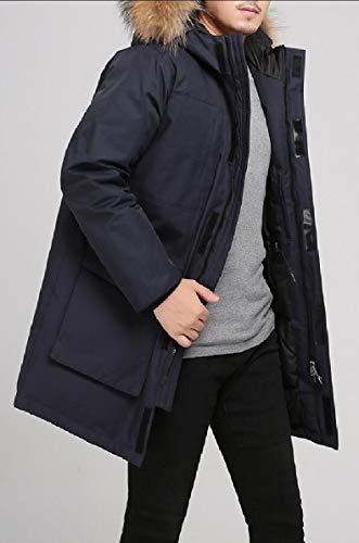 Casual Outwear Coat Puffer Thick Warm Warm Winter security Hooded 1 Jacket Men's B6wU4U