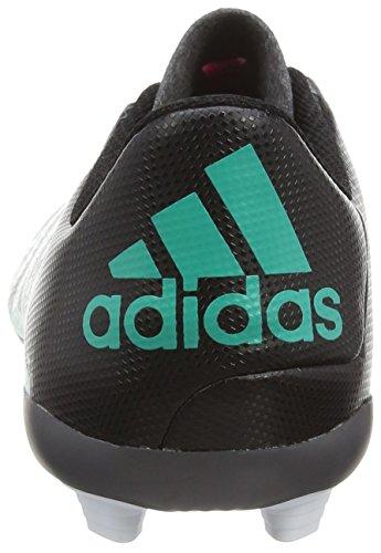 adidas X 15.4 FxG J, Botas de Fútbol Unisex Bebé Negro / Azul / Rosa / Blanco (Negbas / Menimp / Ftwbla)