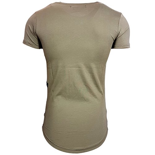 Rusty Neal Herren T-Shirts T-Shirt grün kaki XL