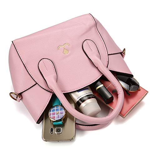 de Rosé Moyen mode supérieure OURBAG Sac à mignon Poignée bandoulière Rosé féminine fvzvnERx