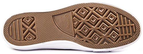 Converse Chuck II Open Knit Chaussures Homme Sneakers,Sharkskin/Green Glow, 42.5