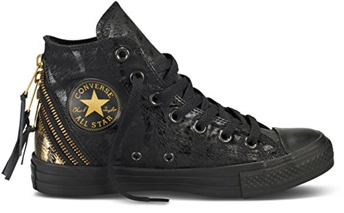 Converse Womens Chuck Taylor All Star Triple Zip Hi Black...