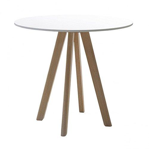 Conmoto Chairman - Mesa (80 x 72 cm), Color Blanco: Amazon.es ...