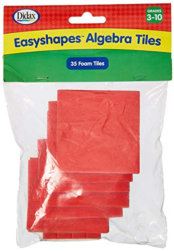 Didax Easyshapes Algebra Tiles (35 Pieces) ()