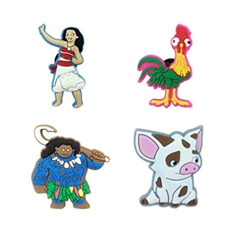 CharmTM MN Set of 4 PVC Shoe Charms (Generic) for Crocs Natives Party Favors by