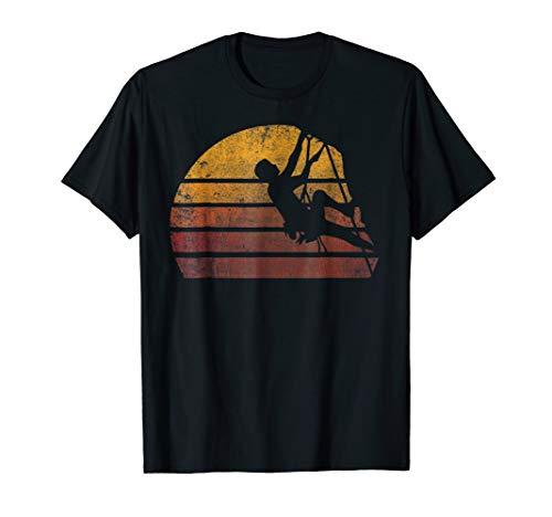 Vintage Rock Climbing Bouldering T-shirt