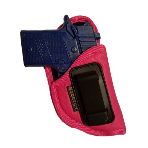 Pink ECO LEATHER Gun Concealment Holster Inside The Waist With Metal Clip Fits GLOCK 42,SIG P 938, 1911 3