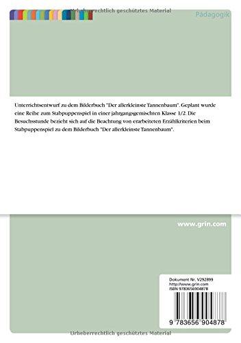 Allerkleinste Tannenbaum.Szenisches Spiel In Der Grundschule Anhand Der Allerkleinste