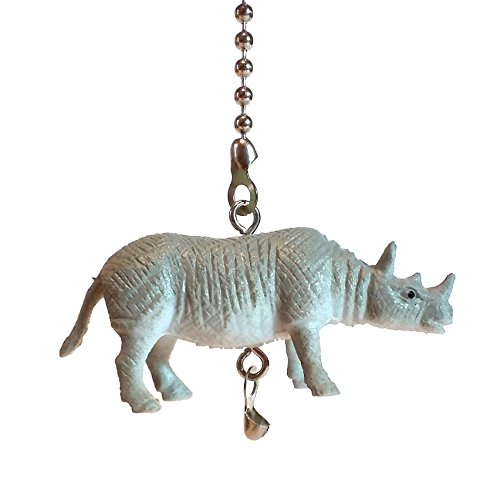 - Endangered Animal Ceiling Fan Pulls by Wooden Androyd Studio (Rhinoceros)