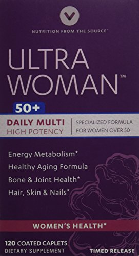 Vitamin World Ultra Woman 50 Plus, 120 Count