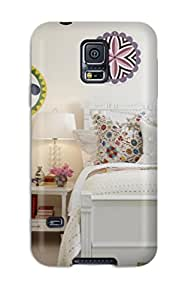 Cute Tpu ZippyDoritEduard Kids Bedroom With Fun Prints And White Furniture Case Cover For Galaxy S5