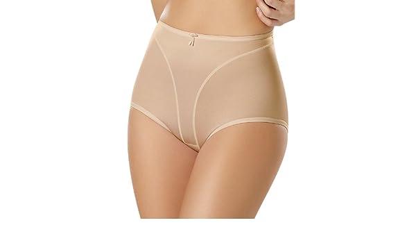 45822def42d3e Leonisa High-Cut Panty Shaper Beige at Amazon Women s Clothing store