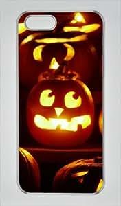 Iphone 5 5s PC Hard Shell Case Otife Halloween Holiday Transparent Skin by Sallylotus