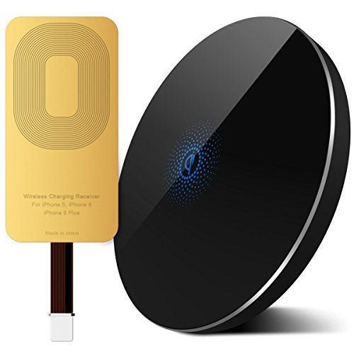 Wireless Aluminum Pad Receiver Qi Enabled