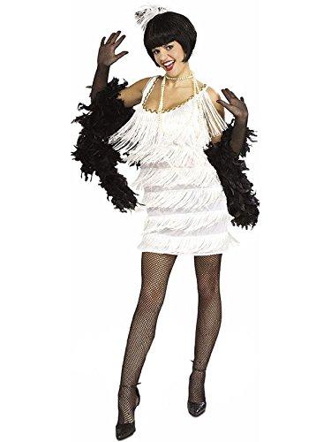 Flapper Dancer Costume (Broadway Babe Adult Small 20s 20's Flapper Dancer Costume)