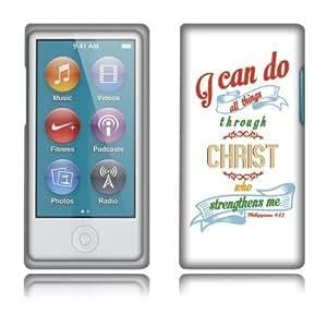 Quaroth - Fincibo (TM) Apple iPod Nano 7 (7th Generation) Protector Hard Snap On Crystal Cover Case - Christian Bible Verse...