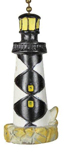 N Carolina Cape Lookout Lighthouse Ceiling Fan Light Pull