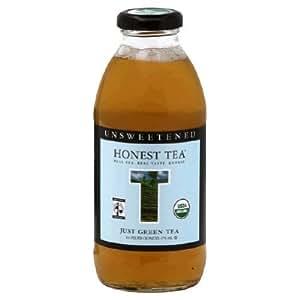 Honest Tea Organic Just Green Tea 16 fl oz 12 Ct