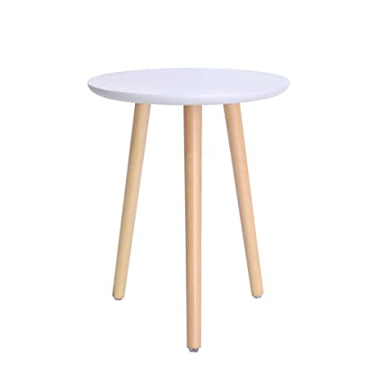 Brilliant Aoeiuv Wooden Nordic Coffee Table Bedside Round Triangle Ncnpc Chair Design For Home Ncnpcorg
