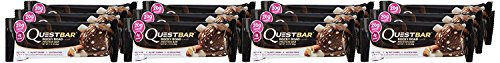 Quest Nutrition High Protein Bar ( Rocky Road, 12 Bars )