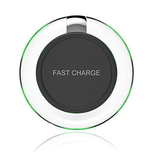 Fast Wireless Charger,Yootech Fast Charge QI Wireless charging pad for Samsung Galaxy S7,Galaxy S7 Edge, Note 5, Galaxy S6 Edge Plus[Adaptive Fast Charger NOT Included]