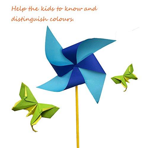 Best Papier Origami Bicolore 240 Feuilles Origami Papier Couleur