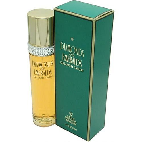Diamonds and Emeralds by Elizabeth Taylor for Women, Eau De Toilette Spray, 1.7-Ounce