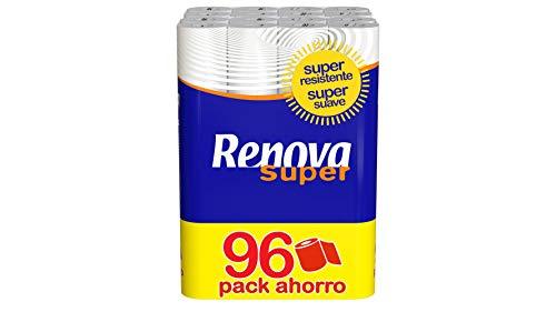 🥇 Renova Papel Higiénico Super – 96 Rollos