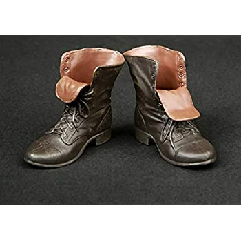 "1//6 Brown Male Leather Shoes Model Accessory For 12/"" Action Figure Body Dolls"