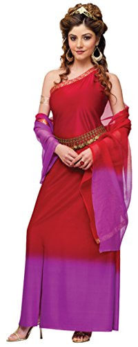 Funworld Womens Historic Graceful Roman Goddess Fancy Halloween Themed Costume, M/L (10-14) (Holiday Themed Costumes)