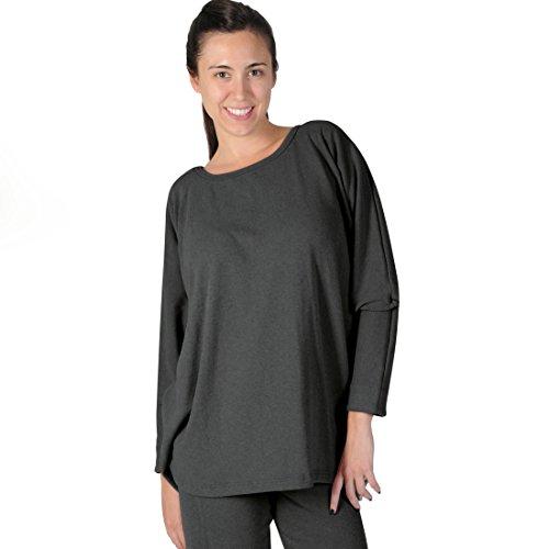 Big Shirt ANNABELL d-grau