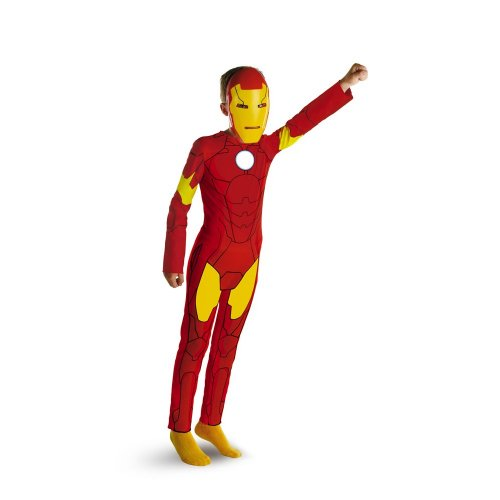 Marvel's Iron Man Animated Iron Man Classic - Size: Child L(10 - 12)
