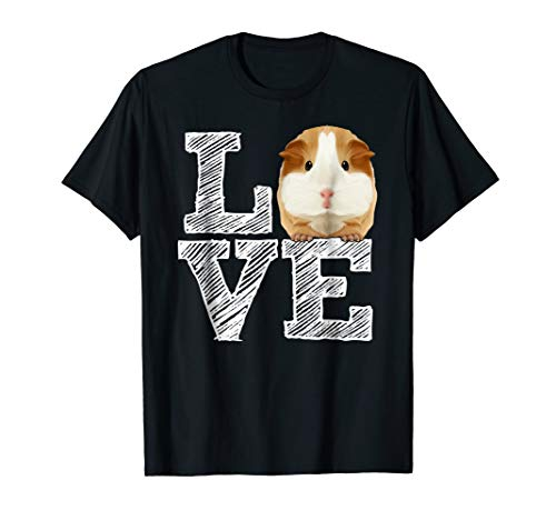 Guinea Pig Love Shirt | Costume Gift Clothing Accessories