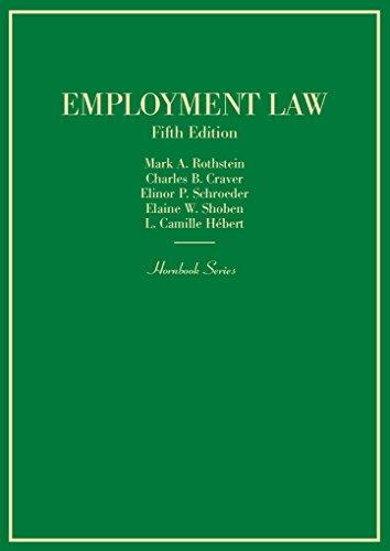 Employment Law (Hornbooks)