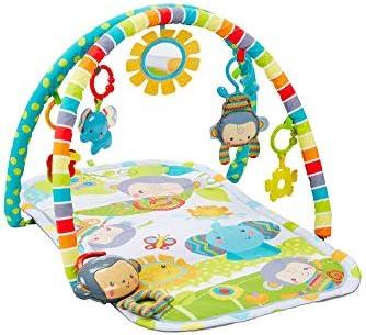 Fisher-Price Gimnasio Musical Monitos Divertidos, manta de juego para bebé (Mattel CLJ42): Amazon.es: Bebé